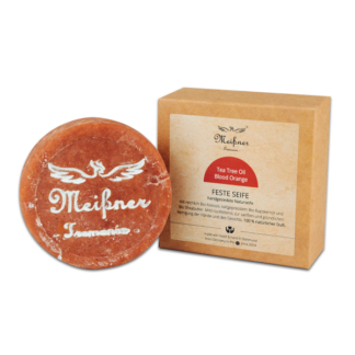 Solid soap, Tea Tree Oil Blood Orange - Hand hygiene
