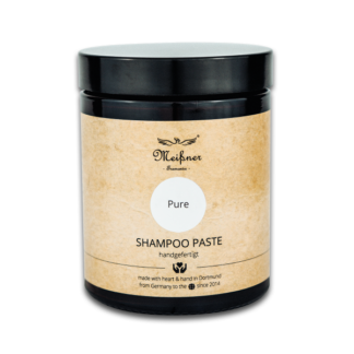 Shampoo Paste Pure, 180ml, Braunglastiegel