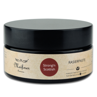 Strong'n-Scottish Rasierpaste 200ml Violetglastiegel